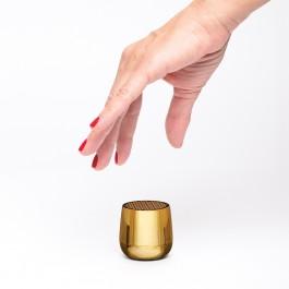 Портативні колонки MINO+ CHROME (золотий)